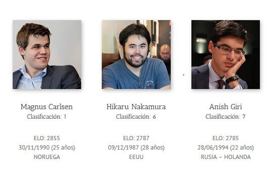 Bilbao Masters jogadores 1